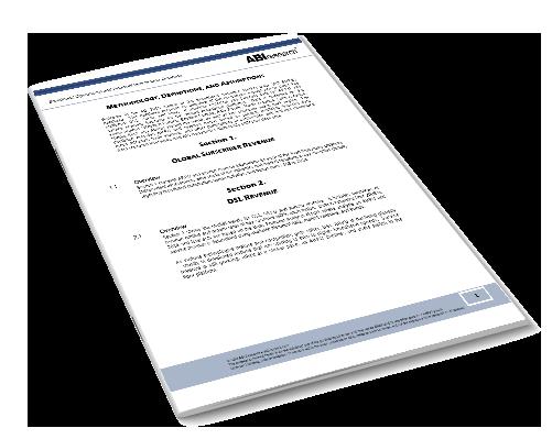 Broadband Operational and Financial Benchmarks Market Data Image