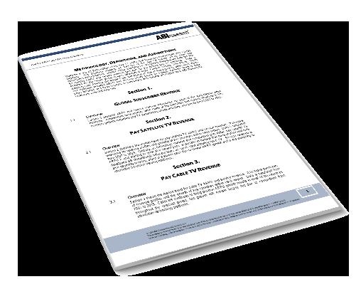 Pay-TV ARPU and Revenue Database Image
