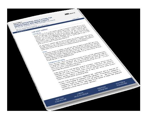 Mobile Enterprise Applications for Smartphones and Media Tablets Image