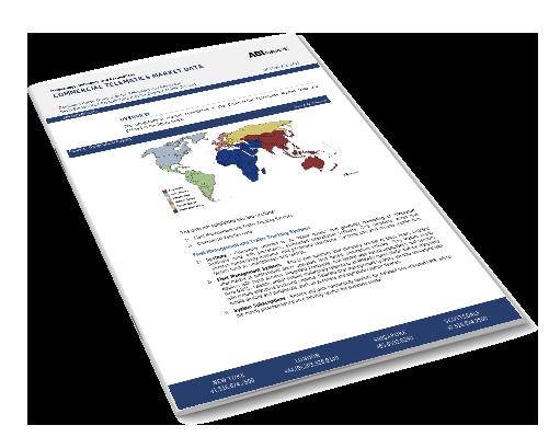 Commercial Telematics Market Data – Global Image
