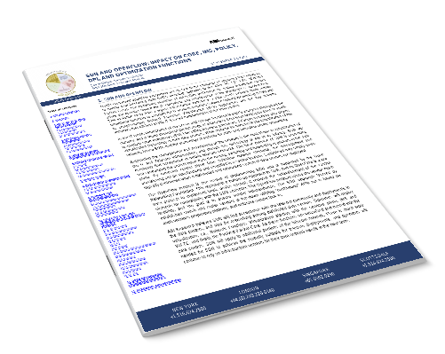 SDN and Openflow: Impact on Core, IMS, Policy, DPI and Optimization Functions Image