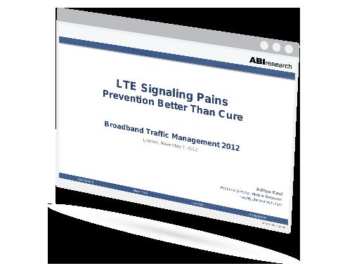 LTE Signaling Pains Image