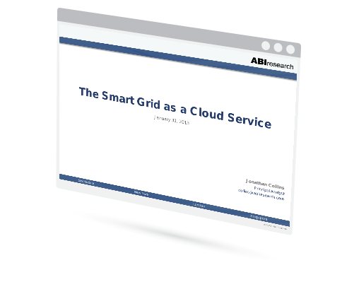 The Smart Grid as a Cloud Service Image