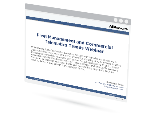 Fleet Management and Commercial Telematics Trends Image