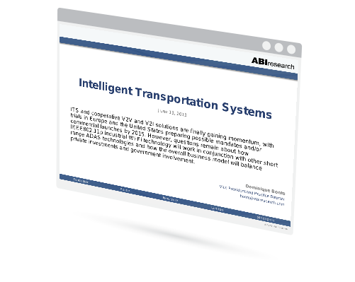 Intelligent Transportation Systems Image