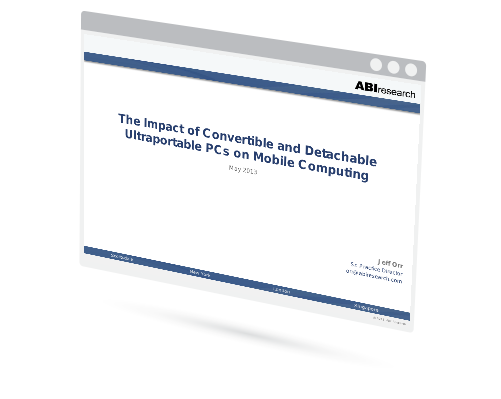 The Impact of Convertible and Detachable Ultraportable PCs on Mobile Computing Image