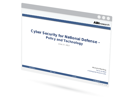 Cyber Security for National Defense: Policy and Technology Image