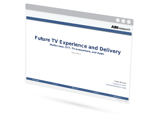 Future TV Experience and Delivery Image