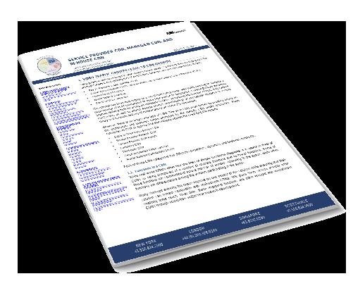 Service Provider CDN, Managed CDN, and In-House CDN Image