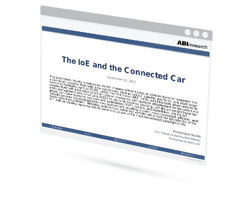 Webinar: The IoE and the Connected Car Image