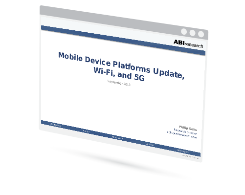 Mobile Device Platforms Update, Wi-Fi, and 5G Image