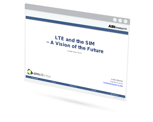 LTE and the SIM - A Vision of the Future Image