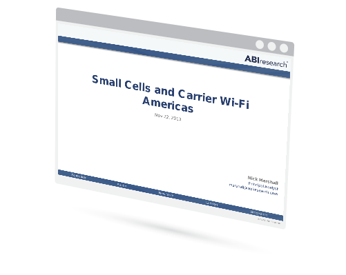 Small Cells and Carrier Wi-Fi in the Americas Image