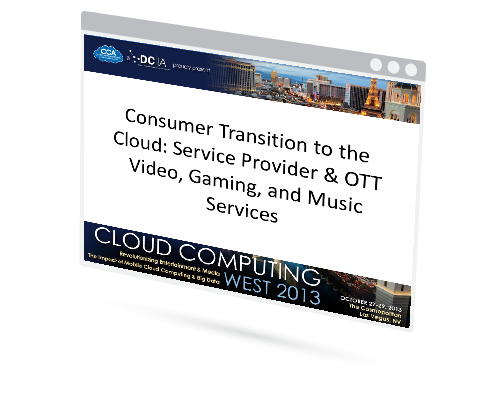 Cloud Electronics: Music, Video, and Gaming Services Image
