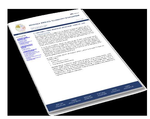 Wearable Wireless Technology in Enterprise Image