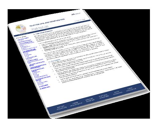 Telecom APIs and Monetization Image