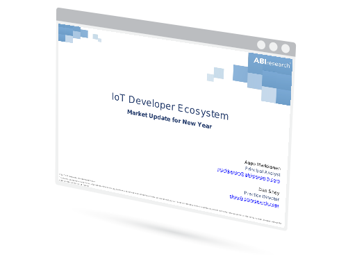 Webinar: IoT Developer Ecosystem – Market Update for New Year Image