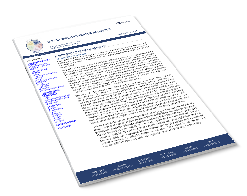802.15.4 Wireless Sensor Networks Image