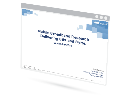 Mobile Broadband Research Delivering Bits and Bytes Image