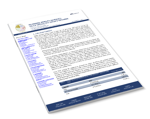 Maximizing Mobility Revenues: Telco versus OTT Service Provider Image