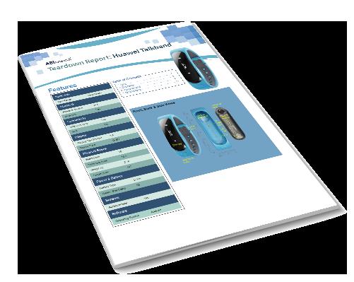 Teardown Report: Huawei Talkband Image