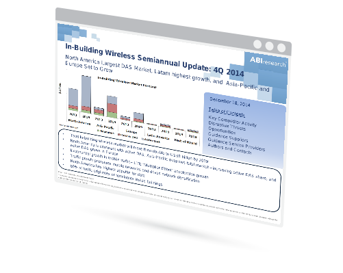 In-Building Wireless Semiannual Update Image