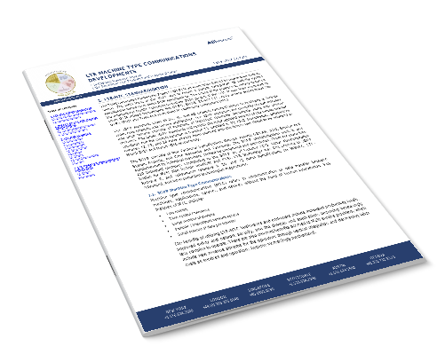 LTE Machine Type Communications Developments Image