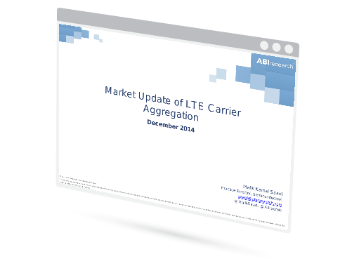 Market Update of LTE Carrier Aggregation Image