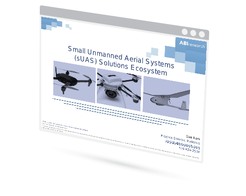 Small Unmanned Aerial Systems (sUAS) Solutions Ecosystem Image