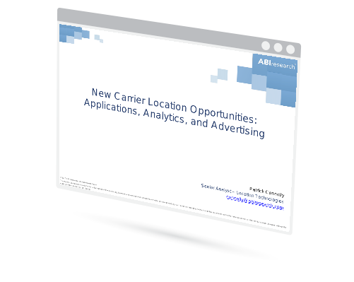 Webinar: New Carrier Location Opportunities: Applications, Analytics, and Advertising Image