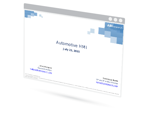 Webinar: Automotive HMI Image