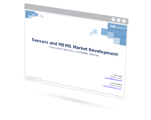 Sensors and MEMS Market Development: Consumer Electronics and Mobile Devices Image