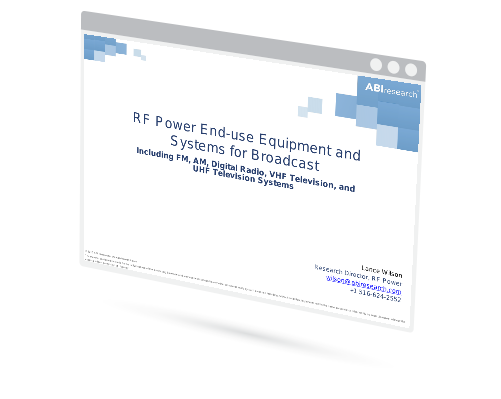 RF Power End-use Equipment and Systems for Broadcast Image