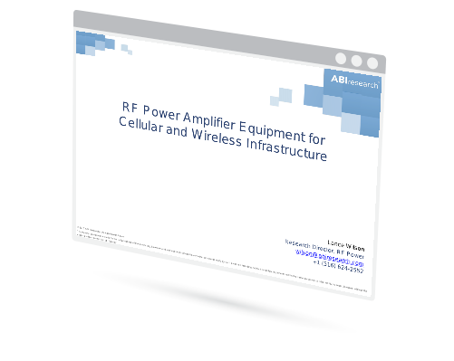 RF Power Amplifier Equipment for Cellular and Wireless Infrastructure Image