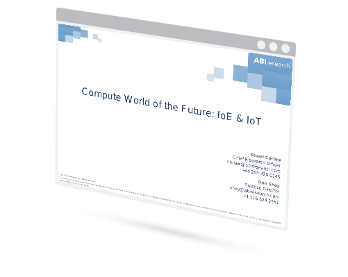 Compute World of the Future: IoE & IoT Image