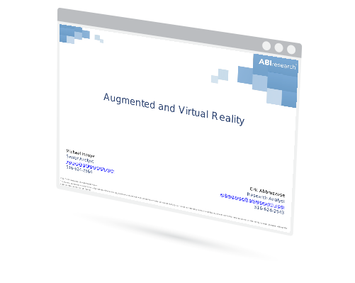 Webinar: Augmented and Virtual Reality Image