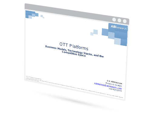 OTT Platforms: Business Models, Technology Stacks, and the Competitive Space Image