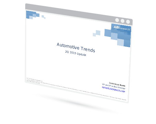 Automotive Trends: 2Q 2015 Update Image