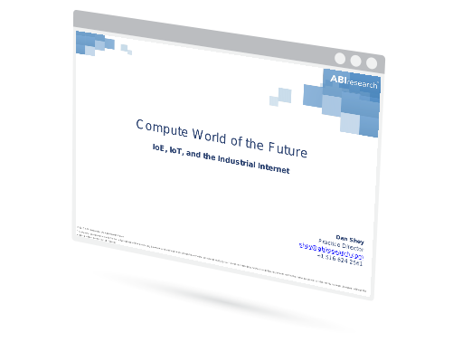 Compute World of the Future: IoE, IoT, and the Industrial Internet Image