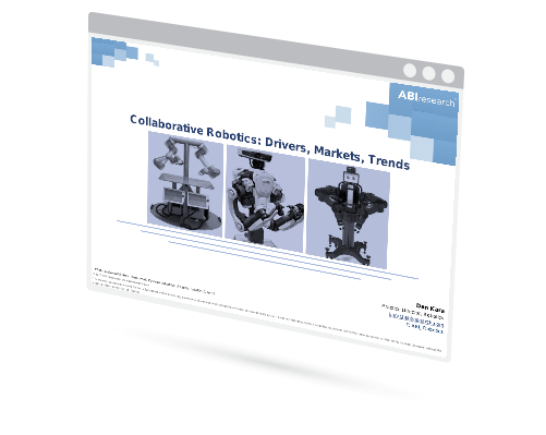 Webinar:  Collaborative Robotics: Drivers, Markets, and Trends Image