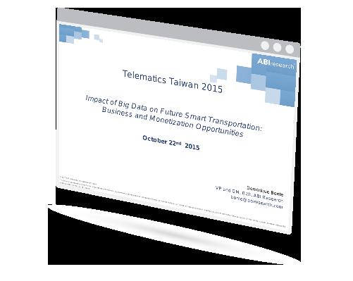 Telematics Taiwan 2015 Image