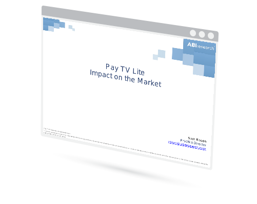 Pay TV Lite Impact on the Market Image