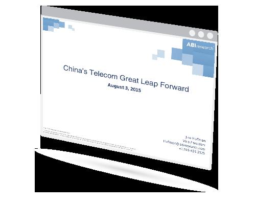 China's Telecom Great Leap Forward Image