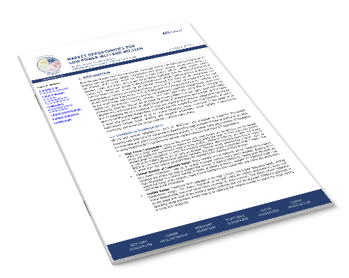 Market Opportunities for Low Power Wi-Fi and 802.11ah Image