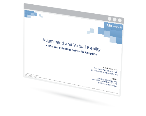 Augmented and Virtual Reality Head Mounted Displays and Inflection Points Image