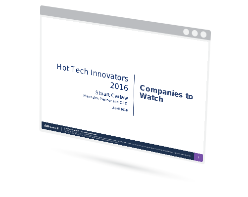 Webinar: Hot Tech Innovators and Companies to Watch Image