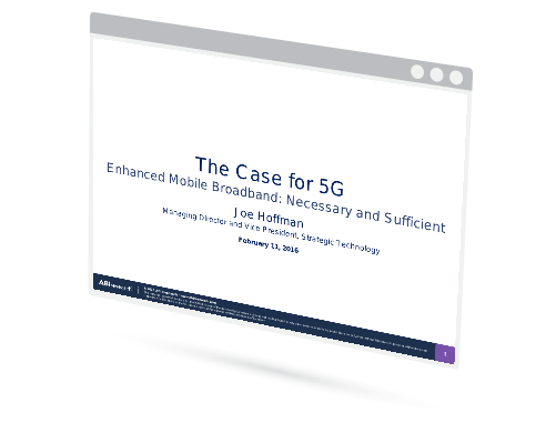 Webinar: The Case for 5G Image