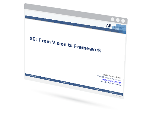 5G: From Vision to Framework Image