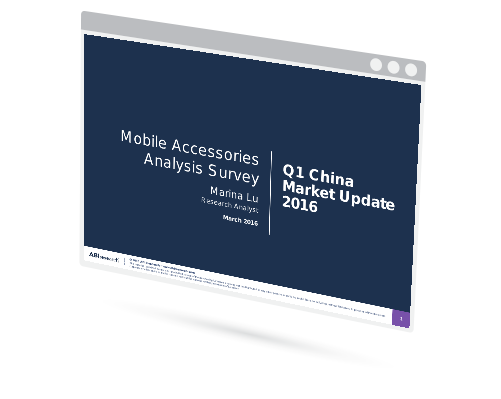 Mobile Device Accessory Survey Results (China) Image