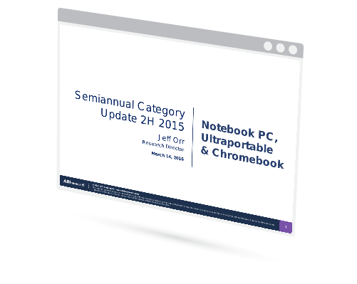 Ultrabooks/Chromebooks Semiannual Update 2H 2015 Image